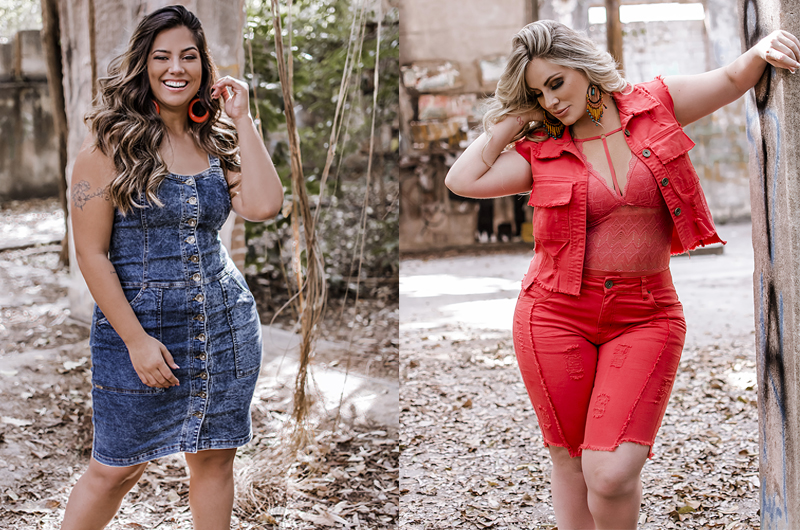 Jeans plus size no atacado