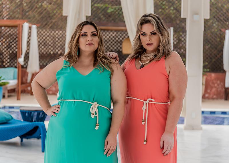 Coleção plus size Long Resort Búzios: um lançamento da Predilect's Plus para empoderar mulheres com moda cheia de tendência!
