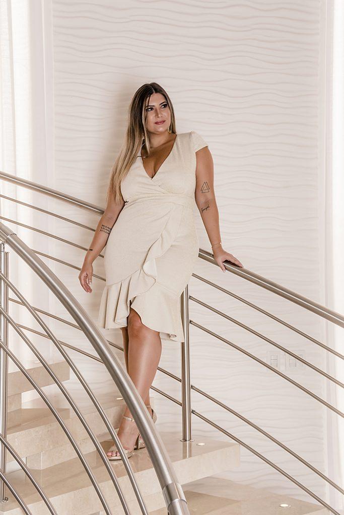 Vestido para Réveillon: moda branca da Predilect's Plus para a virada de ano