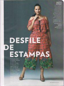 Revista Manequim edição de novembro fala de estampas para plus size