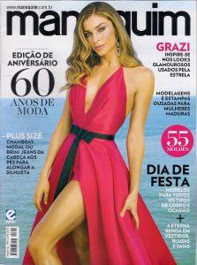 A edição de agosto da Revista Manequim fala sobre jeans plus size
