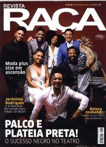 Look da Predilect's Plus aparece na revista Raça em produção inspiradora