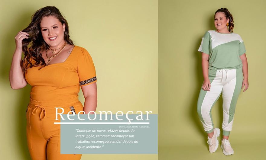 Coleção Recomeçar moda plus size