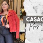 Casacos Plus Size da Predilect's Plus